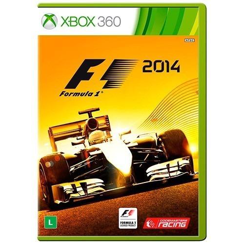 Jogo Formula 1 F1 2014 - Original Xbox 360 Mídia Física ((seminovo)) Com Garantia