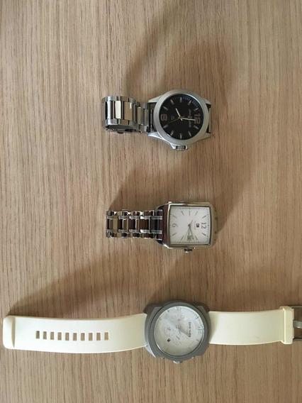 Vendo 3 Relógios, Tommy, Diesel E John John.