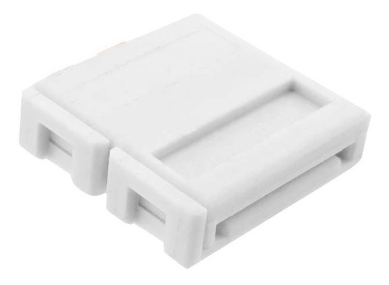 Conector Doble Tira Led Monocromática Sin Cable 3528 2835