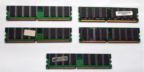 Memorias Ddr-doble Densidad-pc3200/2700-512mb