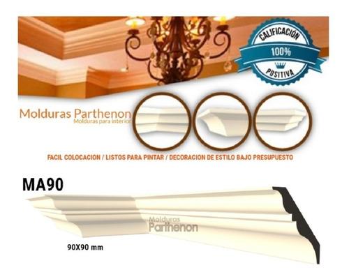 Parthenon Molduras Para Interior Ma90 Increíble Terminación