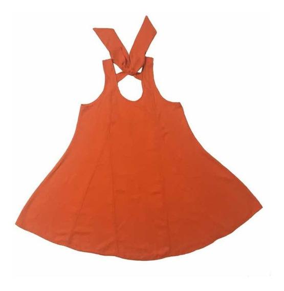 Vestido Carmen Naranja Mi Tercer Ojo Básicos