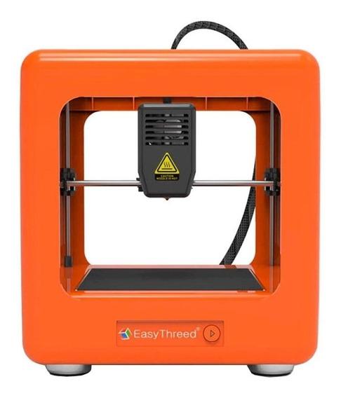 Impressora 3D Easythreed Nano orange 110V/240V com tecnologia de impressão FDM