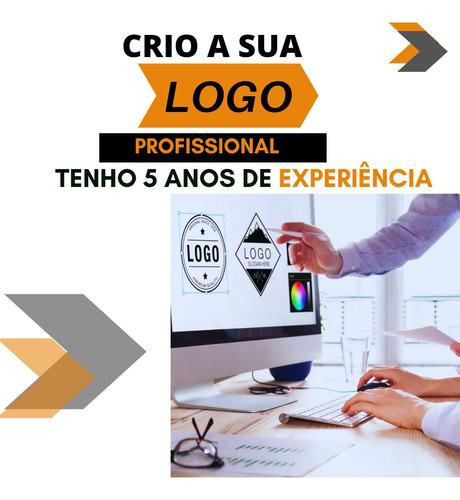 Imagem 1 de 5 de Logotipo Profissional Em 24h + 3 Posts Grátis