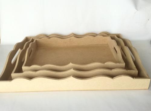 Caja De Trupan Fuente Para Desayunos Azafates De Trupan