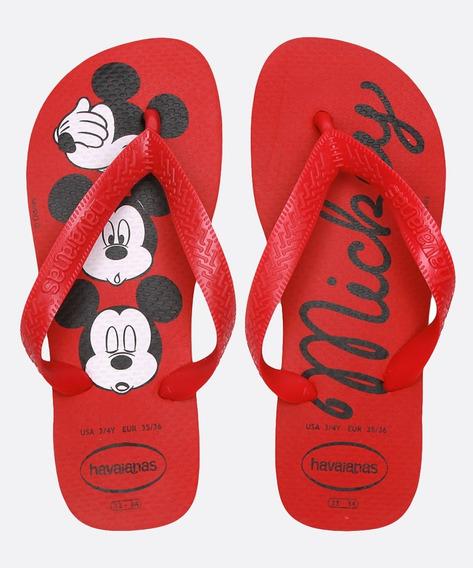 Chinelo Havaianas Feminino Estampa Mickey Top