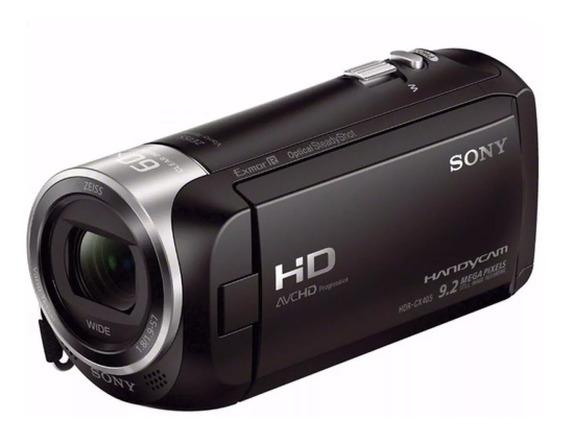 Filmadora Sony Hdr-cx405 Hd Handycam Full Hd Top De Linha