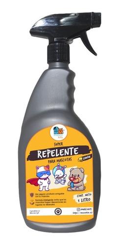 Super Repelente Para Perro Y Gato 1 Litro