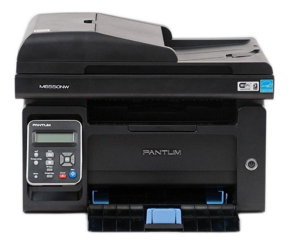 Impressora multifuncional Elgin Pantum M6550NW com Wi-Fi 100V - 127V preta