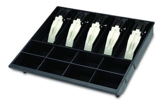 Porta Cédulas/moedas Mg-40 Preto Presilhas De Plástico Menno