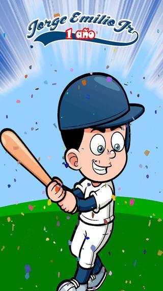 Camiseta Beisbol Para Editar Invitaciones Y Tarjetas En