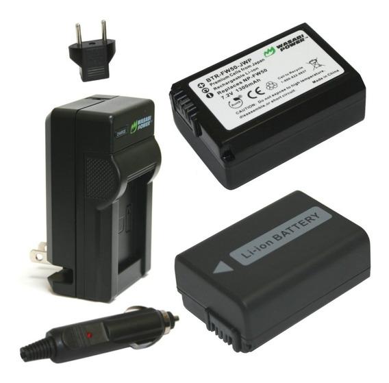 Wasabi Batería De Alimentación Para Sony Np-fw50 Serie W