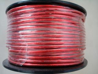 Skga209-1 Rollo De Cable Microfono Siliconado Rojo Soundking