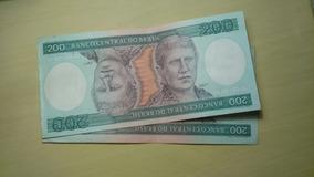 Cédula De Cr$200,00 (duzentos Cruzeiros) Excelente Estado!