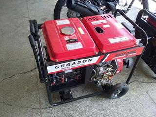Gerador De Energia Motomil Mdg-6500cle 6,5kva