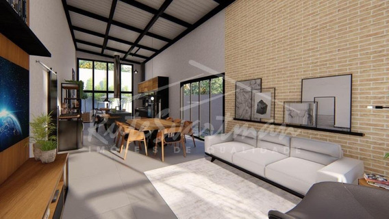 Linda Casa Térrea Com 3 Dormitórios À Venda, 162 M² Por R$ 770.000 - Condomínio Recanto Do Guará - Campinas/sp - Ca3338