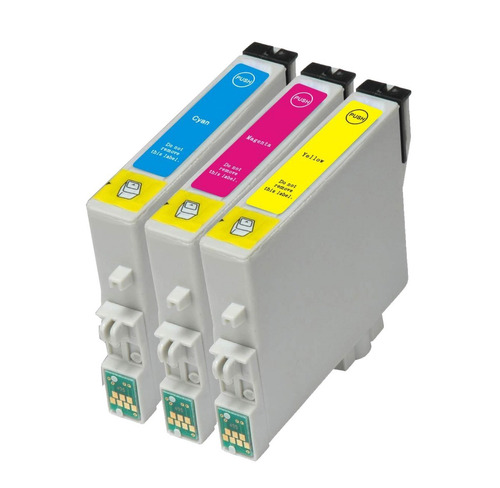 Imagen 1 de 5 de Kit Cartucho Alternativo P/ Epson Xp 231 Kit 3 Colores