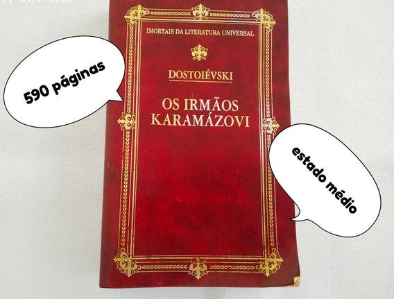 Livro Usado Os Irmãos Karamazovi Dostoievski