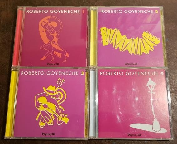 Polaco Goyeneche Lote De 4 Cd De Pagina 12 Tango