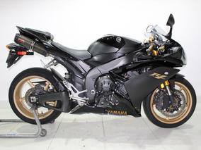 Yamaha Yzf R1 2008 Preta