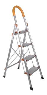 Escalera 4 Pasos Hogar Aluminio