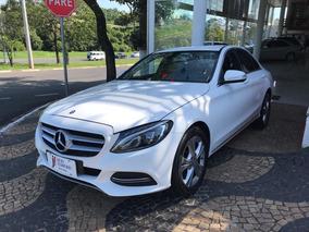 Mercedes-benz Classe C 180 1.6 Turbo Branco 2015