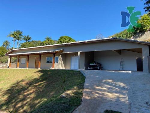 Chácara Com 3 Dormitórios À Venda, 2186 M² Por R$ 1.500.000,00 - Chácaras Condomínio Recanto Pássaros Ii - Jacareí/sp - Ch0062