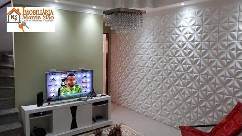 Sobrado Com 2 Dormitórios À Venda, 140 M² Por R$ 600.000,00 - Jardim Cocaia - Guarulhos/sp - So0450