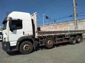 Vw 24280 Bitruck 8x2 Ano 2013 Teto Alto Carroceria