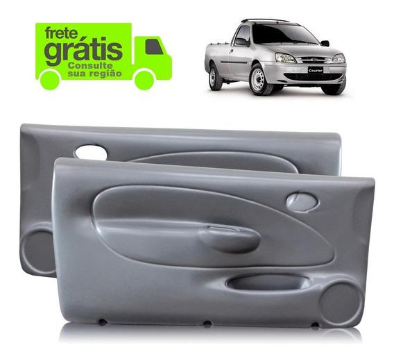 Forro Porta Fiesta Courier 2 Portas 03-08 - Par Manual