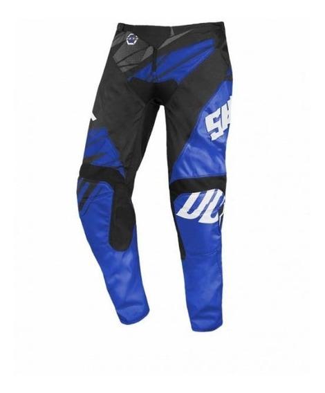 Pantalón Shot Devo Ventury Azul 2020 Enduro Mx Atv
