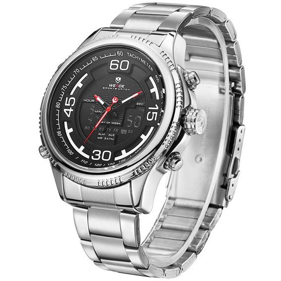 Weide 6306 Dual Exibição Relógio Digital Alarme Calendário L