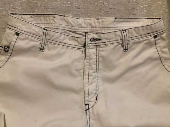 Jeans A + Talle 34 Blanco C/ Pespunte Negro Un Sólo Uso!!!