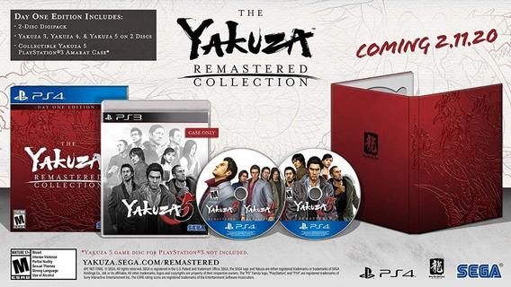 Yakuza Remaster Collection - Day 1 Ps4 - Pronta Entrega!!