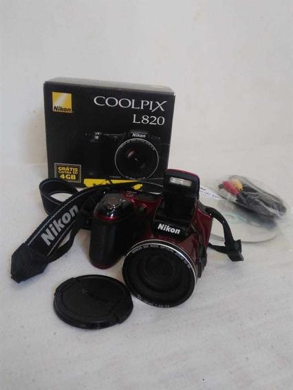 Câmera Fotográfica Semi-profissional Marca Nikon