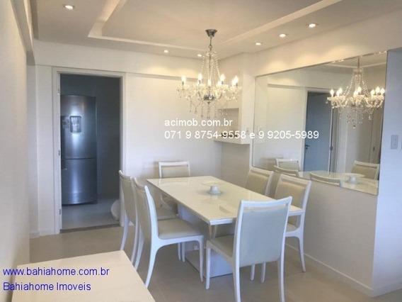 Apartamento Para Vender Em Patamares Na Colina A Com 64m, 3 Quartos E 1 Suíte - Salvador Ba - Ap00900rub