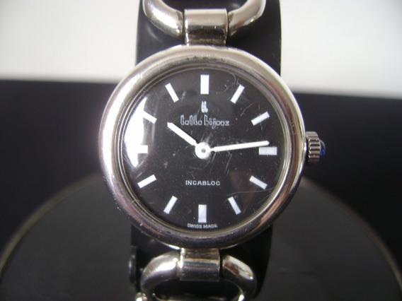 Relógio Lolla Bijoox Em Prata De Pulso Feminino Swiss