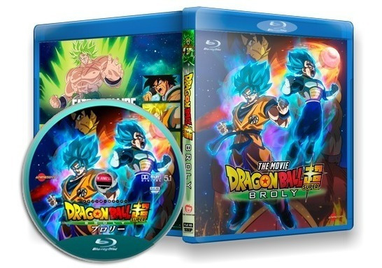 Dragon Ball Super: Broly - Filme Blu-ray Dublado