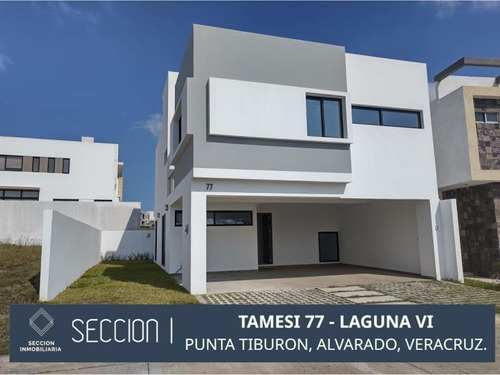Imagen 1 de 12 de Casa Sola En Venta Punta Tiburón, Residencial, Marina Y Golf