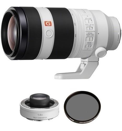 Sony Fe 100-400mm F/4.5-5.6 Gm Oss Lente E Teleconverter 2x