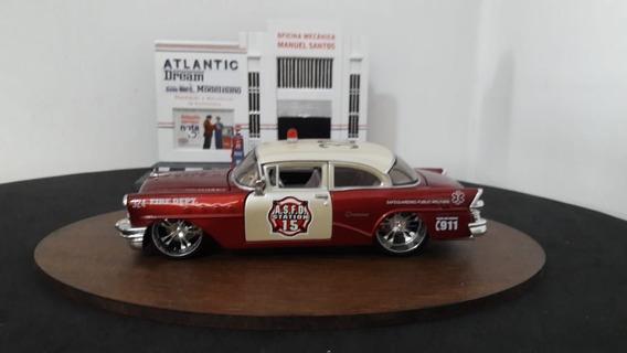 Mini Escala 1/24 Maisto 1955 Buick Century Dor Dept. Maisto