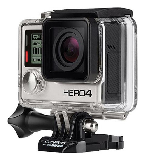 Câmera Digital Gopro Hero 4 Black Edition 12mp Grava 4k Wifi Bluetooth