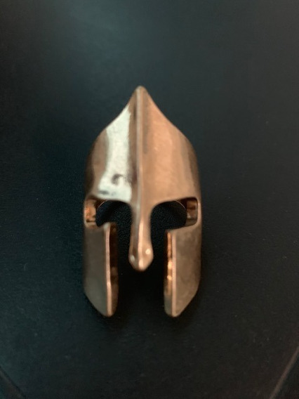 Maravilhoso Anel Mascara Esparta Elmo Capacete Viking Aro 17