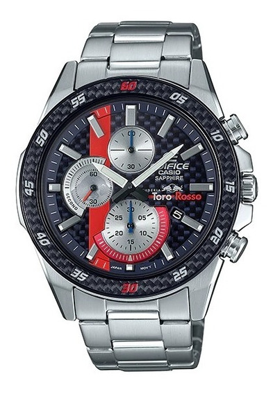 Reloj Casio Edifice Edicion Especial Toro Rosso Efr-s567tr-2