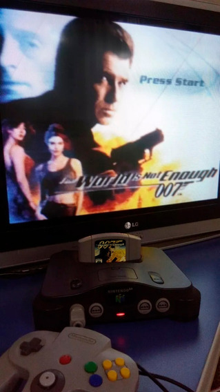 007 The World Is Not Enough Jogo Cartucho Nintendo 64 N64