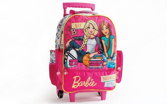 Mochila De Carrito Barbie 16792w Original 18