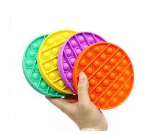 Pop It Juguete Juego Burbujas Novedad Anti Estrés Colores