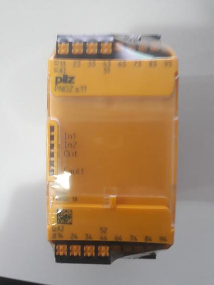 Relé De Segurança Pnoz S11 C 24vdc 8 N/o 1 N/c No. 7511111