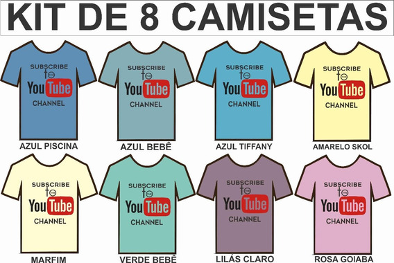 Camisetas Camisas, Tv Youtuber Nelson