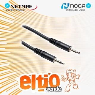 Cable Mini Plug 3.5mm M/m 1.8m - Noganet/netmak